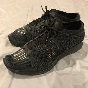 New Sz 13 Black Nike Flyknit Rare